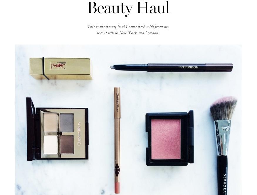 produse beauty haul