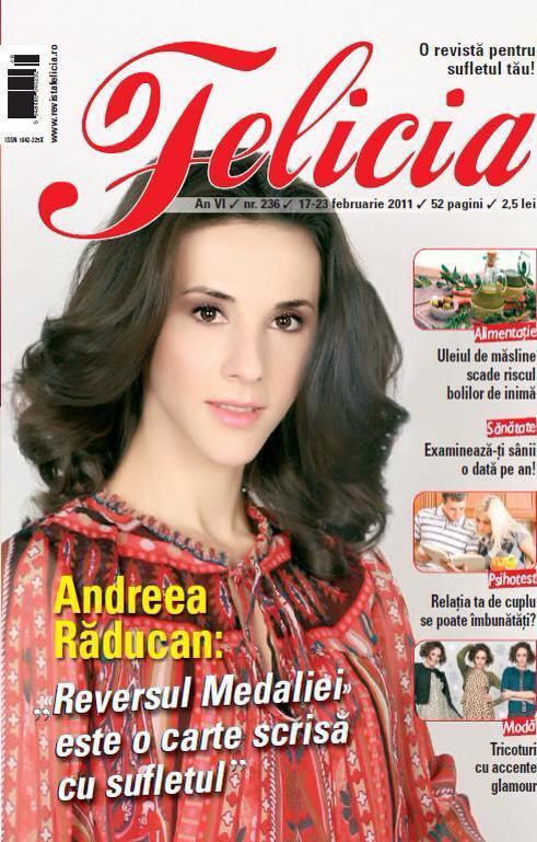 Revista Felicia - Andreea Raducanu