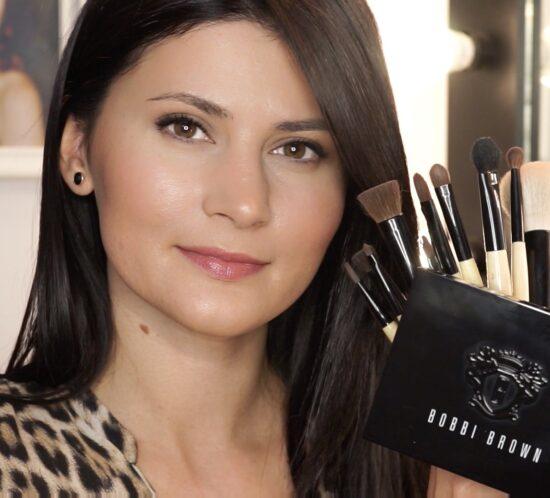 Ep. 1: BOBBI BROWN   Demo   Makeup Natural   Amalia Draghici