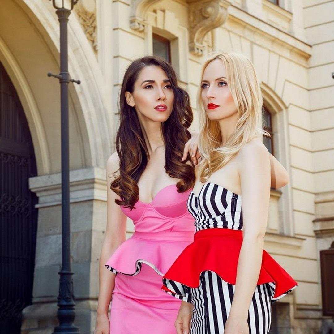 machiaj fashion-editorial rochie roz